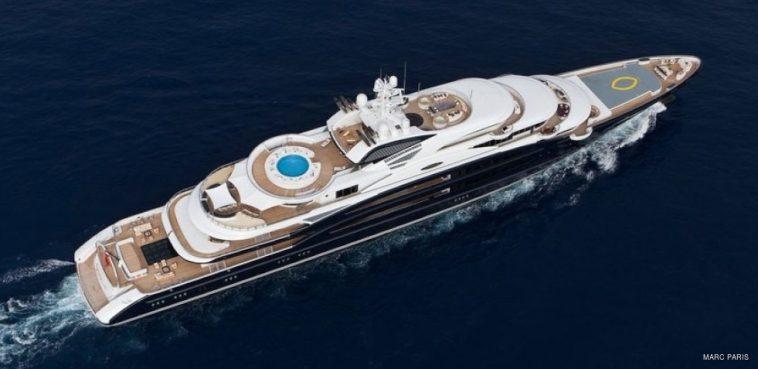 SERENE 1 Una mirada más cercana al Superyacht Serene de $ 330 millones