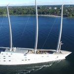 Sailing Yacht A by Nobiskrug Una mirada más cercana al velero A / White P de $ 450 millones
