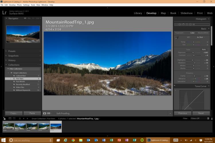 Screenshot 18 Los cinco mejores programas de software de fotografía disponibles en la actualidad