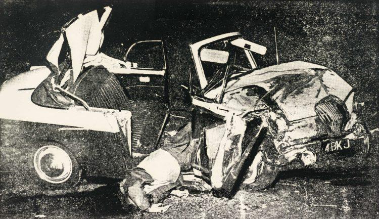 Silver car crash Las 10 pinturas más caras de todos los tiempos