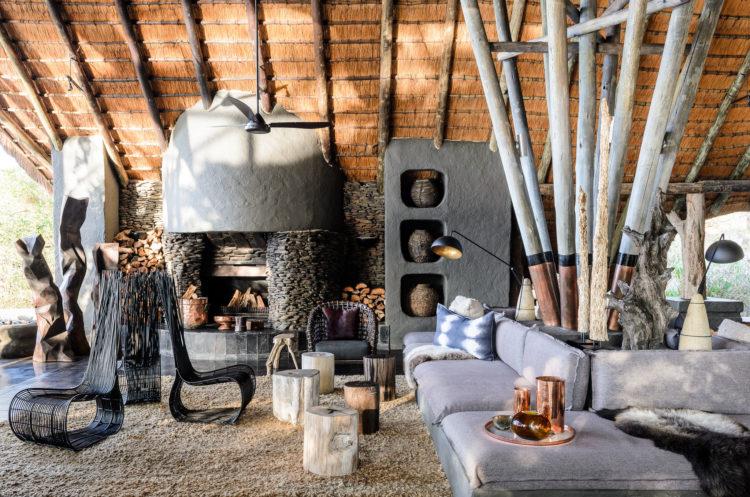 Salón Singita Boulders Lodge - Destino de safari