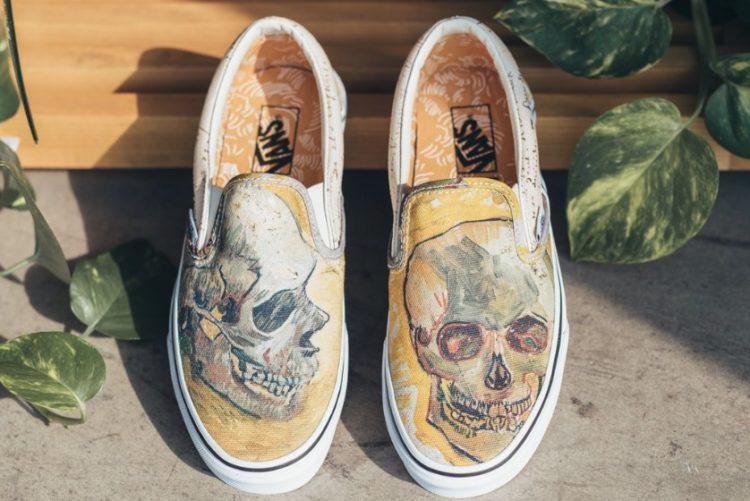 Skull Una mirada más cercana a la colección Vans Van Gogh