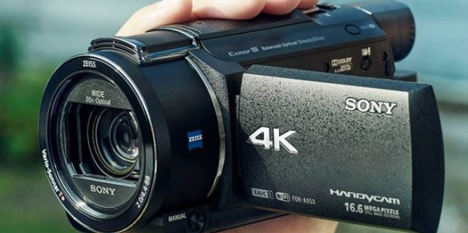 Sony FDR AX53 Review Las cinco mejores videocámaras 4K del mercado actual