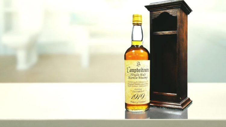 Springbank 50 Year Old 1919 1 1 10 de los whiskies más caros del mundo