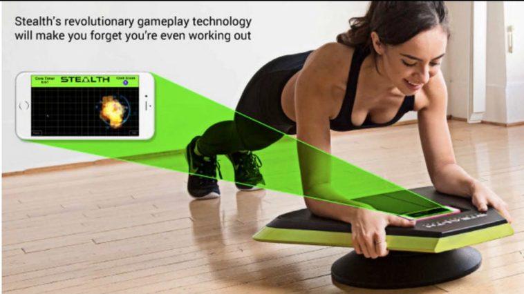 Stealth Obtenga abdominales marcados jugando juegos en su teléfono inteligente