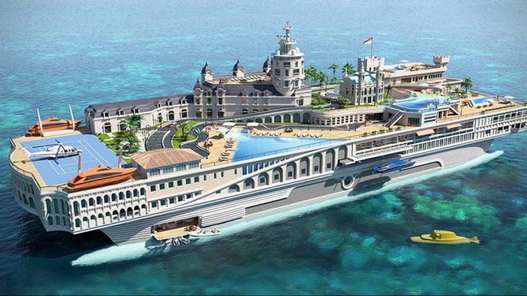 Streets of Monaco Una mirada más cercana a las calles de superyates de $ 400 millones de Mónaco