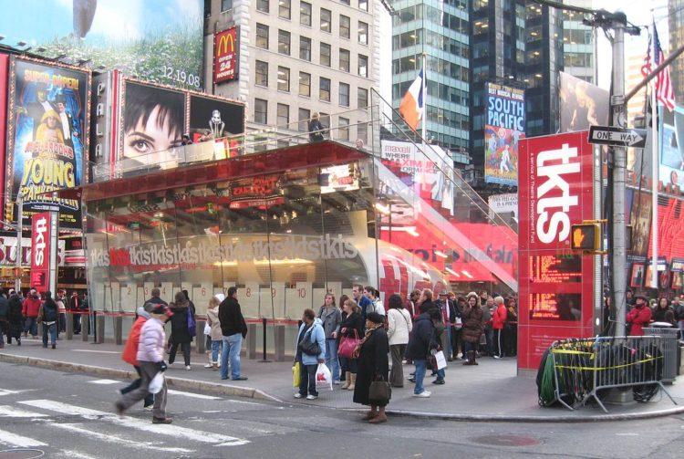 TKTS booth 10 consejos para conseguir asientos increíbles en espectáculos de Broadway por menos dinero