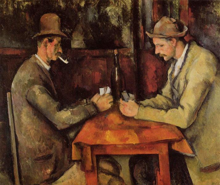 The Card Players Las 10 pinturas más caras de todos los tiempos