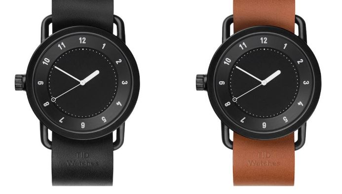 The Iconic No. 1 by TID Los 20 mejores relojes minimalistas para hombre