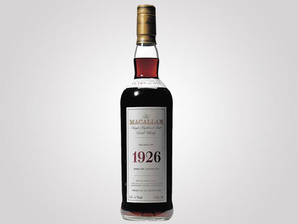 The Macallan 1926 10 de los whiskies más caros del mundo