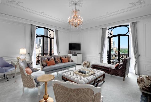 The Top 10 Hotel Residences in The World St. Regis New York Las 10 mejores residencias hoteleras del mundo