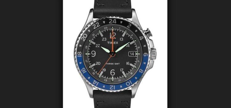 Timex Allied de cuarzo de 3 manecillas para hombre