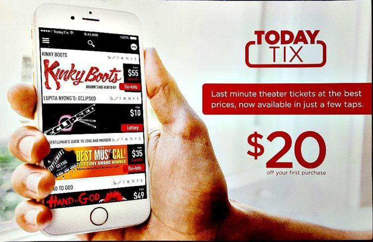 Today Tix 10 consejos para conseguir asientos increíbles en espectáculos de Broadway por menos dinero