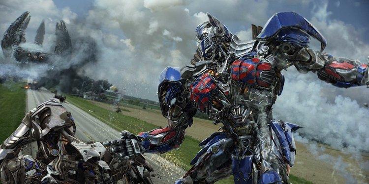 Transformers Age of Las 20 películas de acción más taquilleras de todos los tiempos