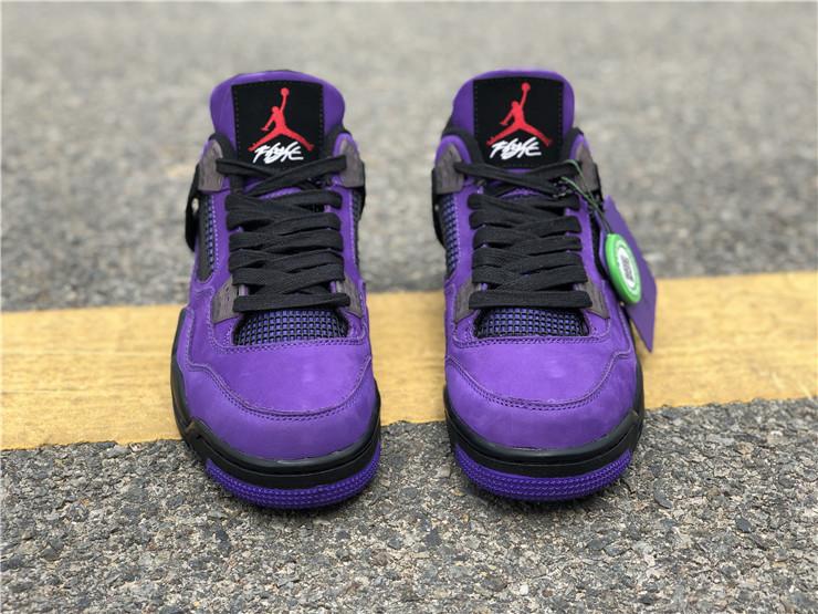 Travis Scott x Air Jordan 4 Purple 2018 For Sale 14 Los 5 lanzamientos de zapatillas más esperados de 2019