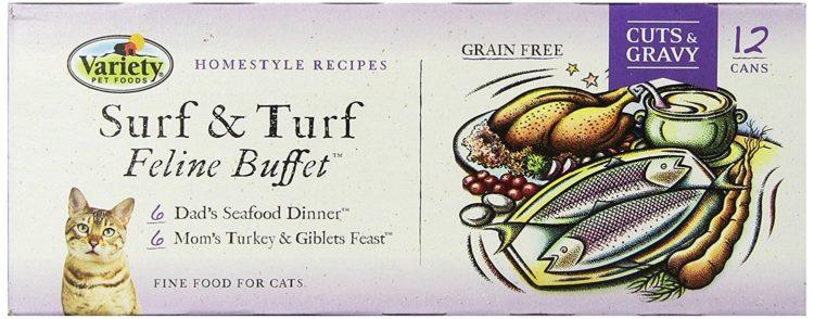 Variety Recipes Cat food 1 Los 10 alimentos para mascotas más caros del mercado actual