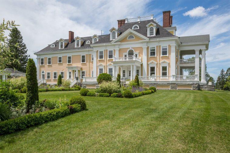 Vermont Mansion Los 20 mejores lugares para vivir en Nueva Inglaterra