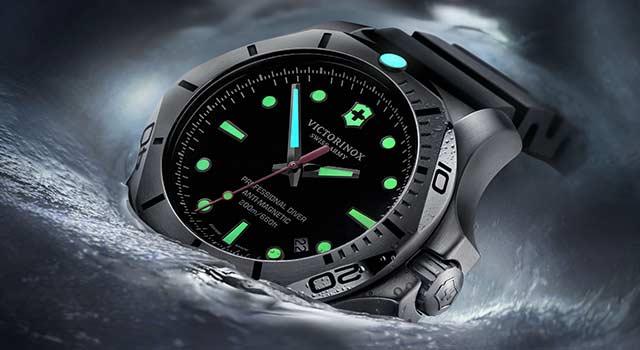Victorinox Swiss Army INOX Professional Diver Titanio