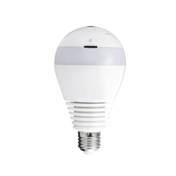 WIFI Security Camera Lightbulb with LED Lighting No Infrared Eye Las cinco mejores cámaras mini-espía del mercado actual
