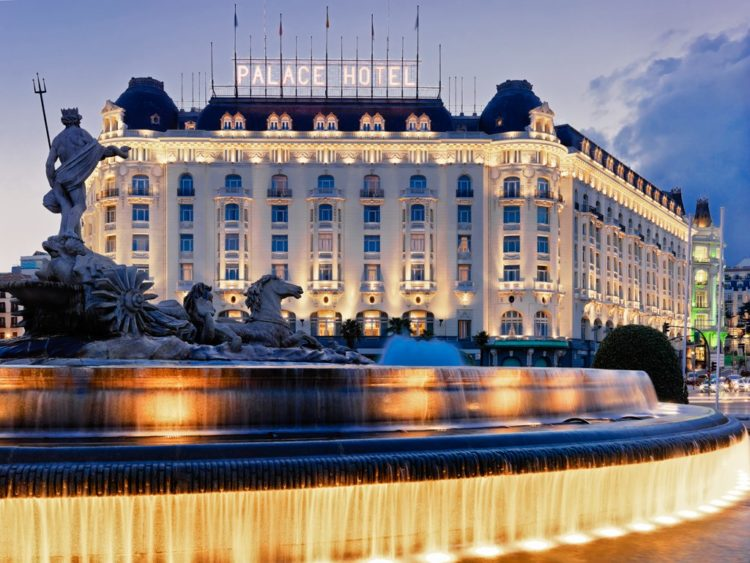 Westin Palace hotel Los 10 hoteles más caros de España