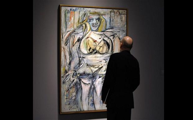 Woman III.bmp Las 10 pinturas más caras de todos los tiempos