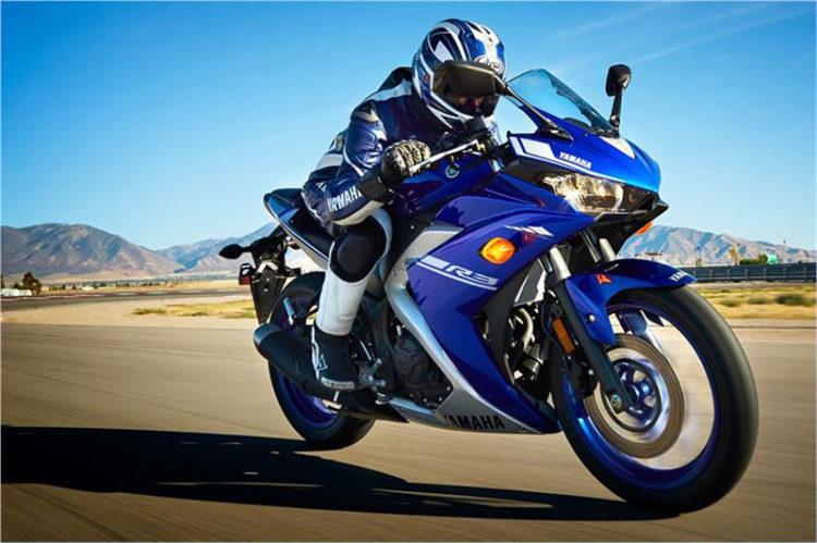 Yamaha YZF R3 Las 10 mejores motocicletas para principiantes