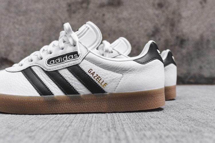adidas gazelle white black gum 1 Los cinco mejores modelos de Adidas Gazelle en el mercado hoy
