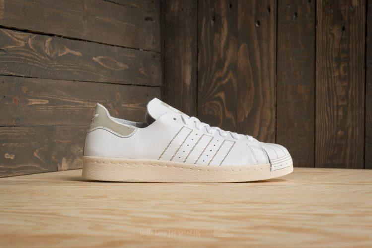 adidas superstar 80s decon ftw white ftw white vintage white Los cinco mejores modelos de Adidas Superstar que puedes comprar
