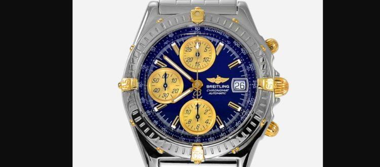 breitling chronomat b13050 azul
