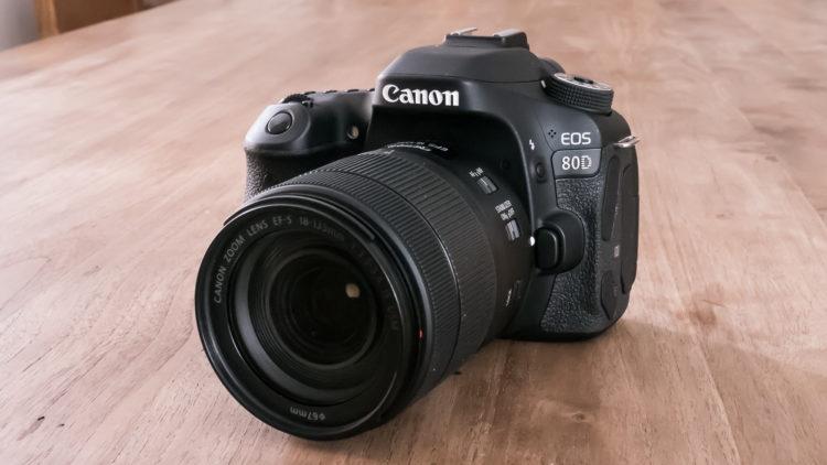 canon eos 80d main Las cinco mejores cámaras DLSR del mercado actual