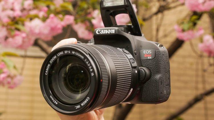 canon eos rebel t7i 01 Las cinco mejores cámaras DLSR del mercado actual