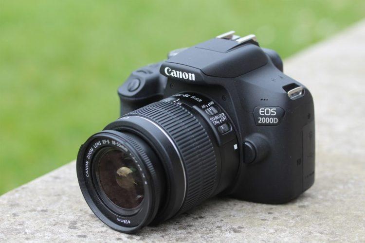 canon eos 2000d 01 1024x683 e1551048227730 Las cinco mejores cámaras DLSR del mercado actual