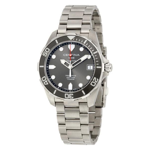certina ds action 3 hands grey dial titanium men s watch c0324104408100 4 Los 20 mejores relojes Certina de todos los tiempos