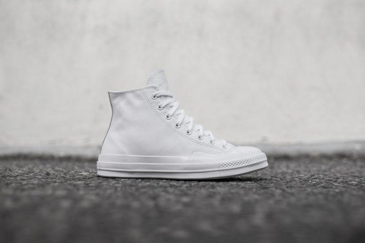 converse 70 all star white Las cinco mejores zapatillas Converse blancas del mercado