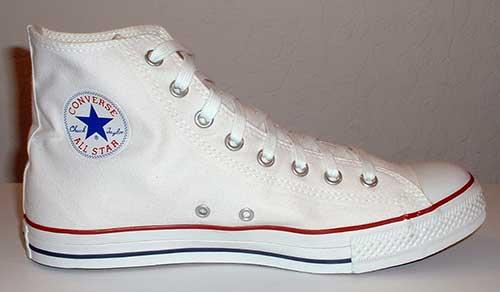 converse history shoe Las cinco mejores zapatillas Converse blancas del mercado