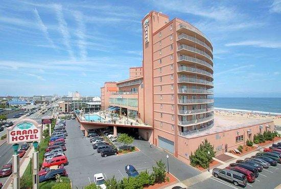exteriror view Los cinco mejores hoteles en Ocean City, MD