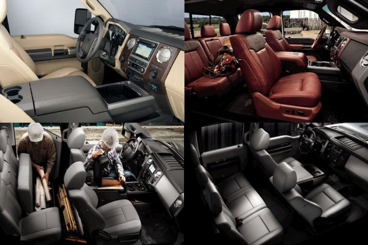 ford f450 super duty interior 3 Esta es la camioneta pickup más cara del mundo