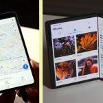galaxy fold versus tcl foldable phone concepts Aquí vienen los teléfonos plegables: ¿qué podemos esperar?