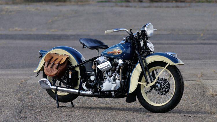 harley blue mottor Los cinco mejores modelos de Harley-Davidson de la década de 1930