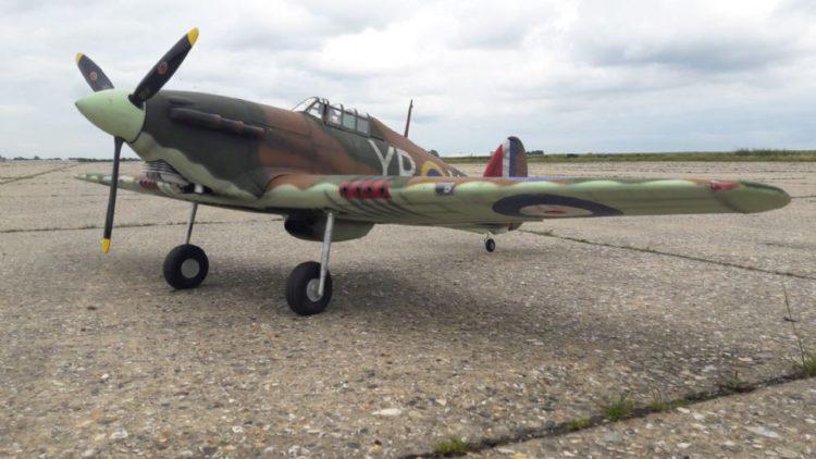 hawker hurricane 6504 pekm1000x562ekm Los 10 aviones de la Segunda Guerra Mundial más reconocidos de la historia