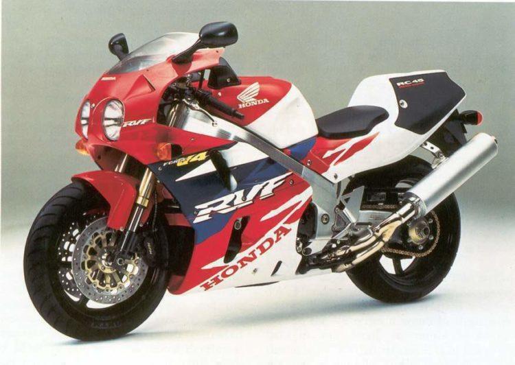 honda rc45 1 Las 10 mejores motos deportivas de los 90