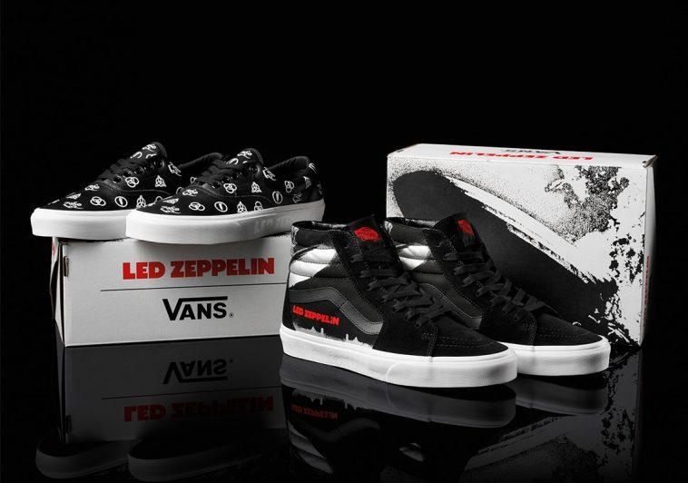 led zepplin vans collection release info Celebra los 50 años de Led Zeppelin con estas zapatillas Vans