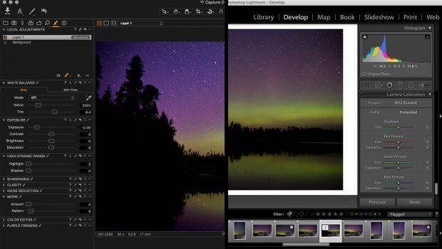 lightroomvscaptureone Los cinco mejores programas de software de fotografía disponibles en la actualidad