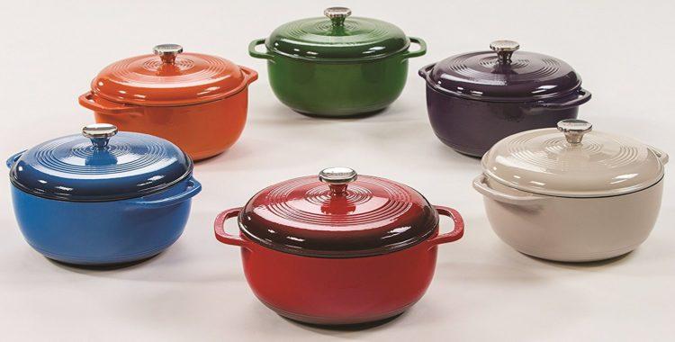 lodge dutch oven Los cinco mejores hornos holandeses de hierro fundido del mercado actual