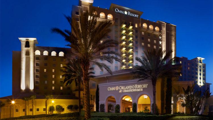mcocha omni orlando resort championsgate front exterior night e1533828276808 Los 10 mejores hoteles Omni en los Estados Unidos