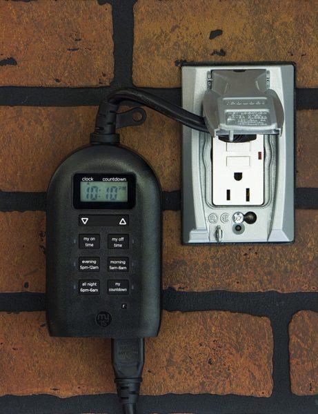 myTouchSmart IndoorOutdoor Plug In Digital Timer Los cinco mejores temporizadores de salida del mercado actual