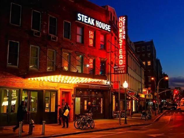 old homestead steakhouse new york city Por qué The Old Homestead Steakhouse es uno de los mejores asadores de Nueva York