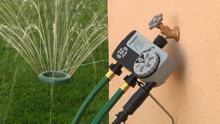 outdoor 3 outlet digital watering timer by orbit sprinklers dor lawn and garden irrigation attractive orbit sprinklers for garden irrigation ideas orbit lawn sprinklers adjust Los cinco mejores temporizadores de salida del mercado actual