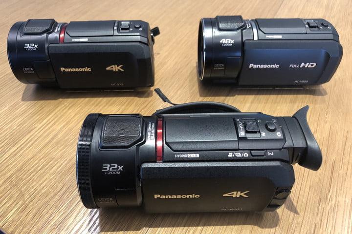 panasonic ces 2018 camcorders Las cinco mejores videocámaras 4K del mercado actual