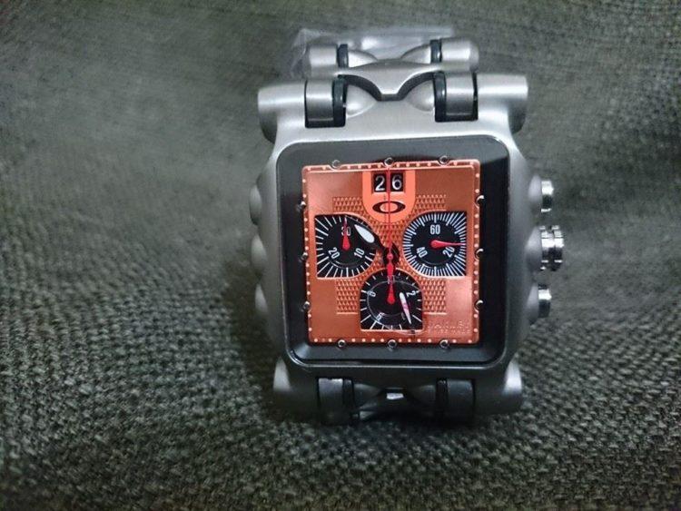 relogio oakley tank minute machine orange 23081 MLB20240952105 022015 F Los cinco mejores relojes Oakley del mercado ahora mismo